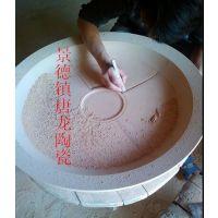 酒店海鲜陶瓷大瓷盘厂家