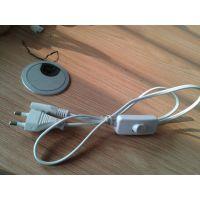 【企业集采】优质低价供应K01两极白色韩国标准电源线插头