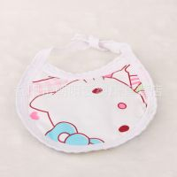 厂家直销  宝宝围嘴 婴幼儿口水巾纯棉 口水巾 婴儿口水兜