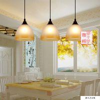 现代简约时尚客厅灯卧室灯LED田园餐厅灯吊灯三头灯具灯饰批发