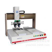 非标自动化双Y轴玻璃胶打胶设备/自动化机械标准三防漆喷胶机