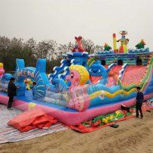 儿童充气城堡游乐园, 河南儿童厂家