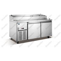 雅绅宝BS15L2F比萨保鲜工作台 冷藏比萨柜 尊宝比萨比萨展示冷柜