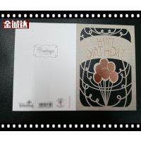 外贸爆款 镂空请柬 珠光纸浮雕 祝福贺卡 生日卡片 个性定制邀请函厂家直供