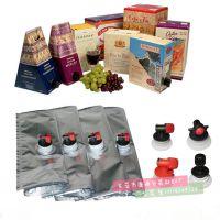 10L装蓝莓酒铝箔包装袋 出口20L红酒盒中袋 纸盒纸箱内置包装袋厂家直销