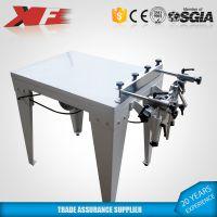 新锋XF-80110韩式吸气平台 手动丝印机 电子 五金 薄膜 纸张等丝网印刷 手印台