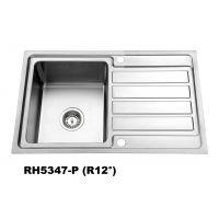 sus304不锈钢水槽 单槽带单翼YH5347