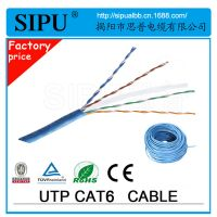 大量供应网线 六类非屏蔽网络线 cat6 UTP室内六类线 通信线缆