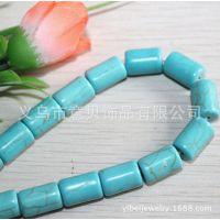 [意贝]泥纹圆珠形状绿松石饰品配件批发 定做其他颜色规格 速卖通