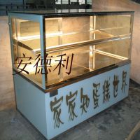 供应安德利立式蛋挞柜 蛋挞展示柜 热柜 面包西点热柜