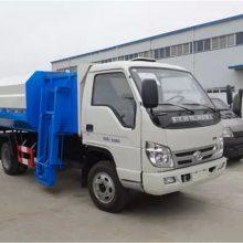 福田2吨3吨自装卸式垃圾车价格报价多少钱一辆