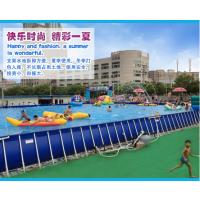 夏季就做充气水池生意最挣钱 暑假里充气泳池生意爆满 气垫水池需要多少钱