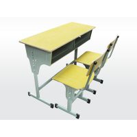 课桌椅的钢材部件的处理方法 郑州课桌椅生产