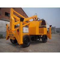 济南牛力厂家定做安装消防队专用曲臂式电动升降机