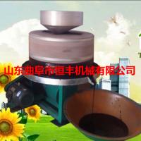 恒丰电动石磨机 豆制品加工设备小型石磨豆腐机 多少钱一台