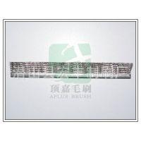 加工定制各种规格钢丝条刷 条形钢丝刷 铝合金条刷  铝条刷