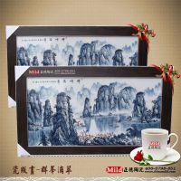 学校文化墙瓷板画定制 陶瓷挂件壁画厂家专业定制