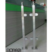 赛凌斯直销厂家精密铸造201不锈钢楼梯立柱/栏杆立柱