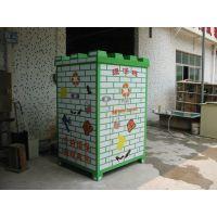 供应优质四川宜宾旧衣回收箱厂家制作, 江苏聚友定制款式加工爱心捐赠箱