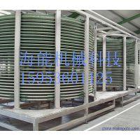 销售果蔬螺旋速冻机 高效节能双螺旋式速冻机 质量好效果好实力厂家