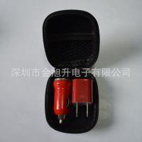 厂家订做迷你二合一USB手机充电套装