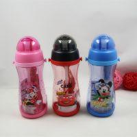 新款迪士尼新力4234 吸管水壶正品凉水杯 550ML