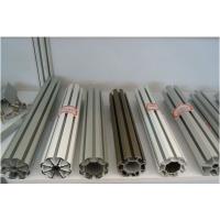展会标摊圆柱八槽立柱圆管型材佛山展位材料八棱柱铝材生产厂家