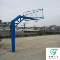 惠州有埋地篮球架 还要带地笼的埋地篮球架批发商吗 康腾为您推荐