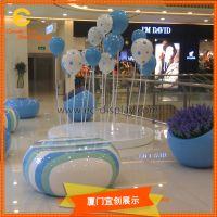 商场DP装饰道具玻璃钢花盆