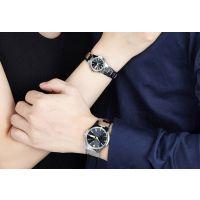 稳达时 高档钨钢礼品手表厂家 定做代工 全钨钢套装手表 2016年时尚款