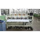 50 / 60Hz Flat Bed / Cap Embroidery Machine , 3d Embroidery Machine With Germany Engineering