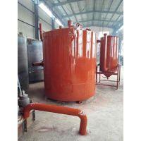 郑州祥达木材炭化炉 多种类型 新型干馏式炭化设备