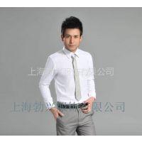 供应男士长袖衬衫批量定做中高档职业衬衫 选上海勃兴服饰厂