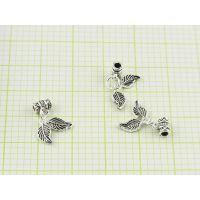 DIYS925银隔片配件加工生产批发 珠宝首饰来图来样加工定制工厂