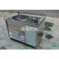 安徽省蚌埠珊珊机械厂家供应糖炒栗子机糖炒栗子加盟板栗炒货机直销