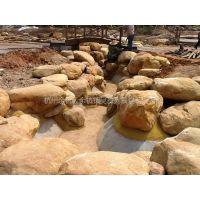 供应园林景观石(黄腊石)