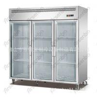 G1.0L2F 不锈钢水果展示柜 立式柜 冷藏柜 保鲜柜 玻璃展示柜