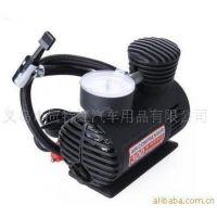 新款车载充气泵 打气机 车用充气泵 塑料小充气泵带气嘴 特价促销