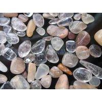 天然水晶  天然发晶碎石   消磁水晶   桑拿水晶  装潢材料