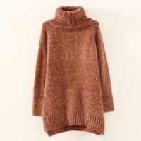 高领打底衫2014秋冬季新款韩版女装毛衣中长款套头宽松加厚针织衫