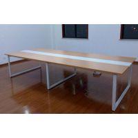 大型会议桌定做/合肥现代会议洽谈桌/简约板木会议桌