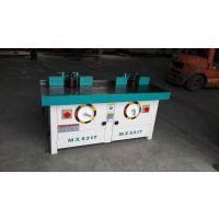 众选机械立式镂铣机,立式双轴木工铣床,双轴立铣价格厂家