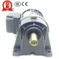 厦门东历电机PL40-1500--70S3卧式三相异步电动机4级齿轮减速电机YS1500W-4P