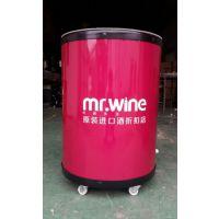 【厂家直销】进口酒冷藏冰桶红酒广告促销冰桶葡萄酒高档制冷冰桶