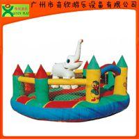 广东厂家供应儿童充气滑梯 广州奇欣儿童充气城堡(QX-116F)