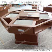 深圳连锁多功能餐桌定做 电解板框架 厂家直销