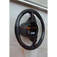 保时捷卡宴 911 Panamera Boxster Macan真碳纤维运动方向盘改装