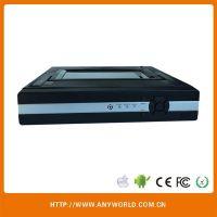 网络监控一体机 ADVR4路 硬盘录像机 带显示屏