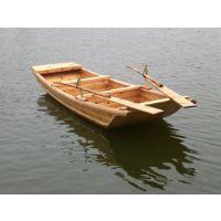 4米小鱼塘木船 养殖渔场专用木船厂