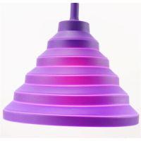可折叠硅胶灯罩 硅胶LED灯罩 吊灯硅胶配件